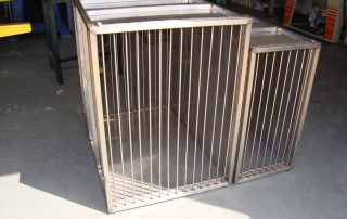 Stainless Steel Dog Car Crates