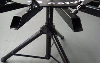 Portable carousel scent detection wheel