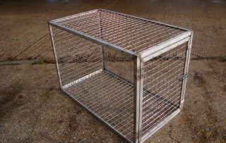 Stainless Steel Dog Crate