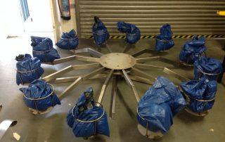 Soil Carousel Ballast Weight Test